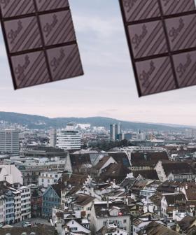 It's Literally Been Raining CHOCOLATE In Switzerland!