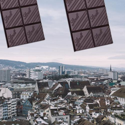 It's Literally Been Raining CHOCOLATE In Switzerland!