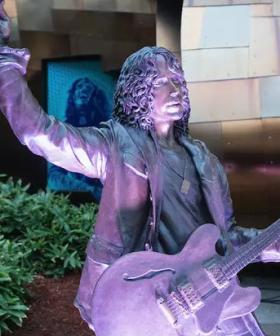 Chris Cornell Statue Vandalised Outside Seattle Museum Of Pop Culture