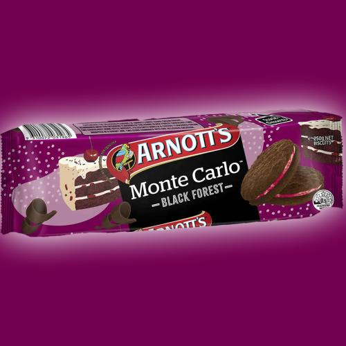 Arnott's Has Released A Black Forest Monte Carlo And It Looks Divine!