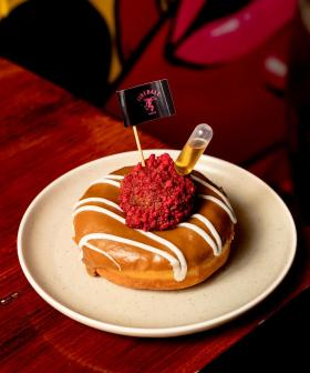 Donut Papi Has Collaborated With Fireball Whisky To Make A Whisky-Flavoured Donut!