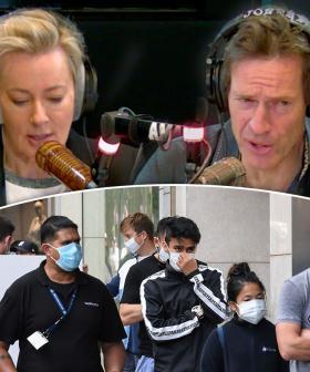 Jonesy & Amanda Discuss Whether Face Masks Should Be Mandatory In NSW
