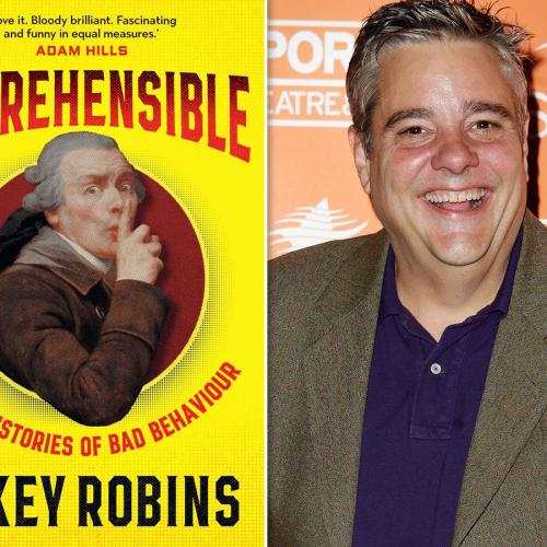 Comedian Mikey Robins Opens Up About Life And His Brand New Book