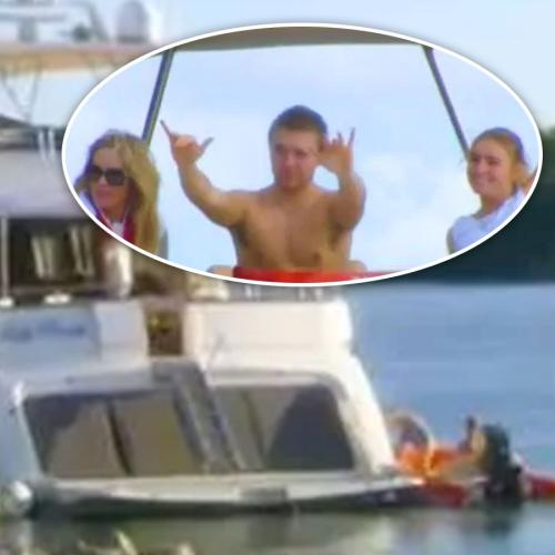 Millionaire Avoids Quarantine By FLEEING On Luxury Yacht