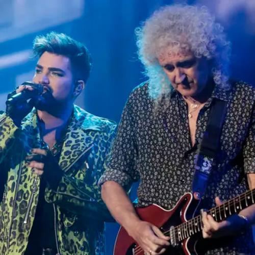 Watch Queen + Adam Lambert Perform Freddie Mercury Solo Hit Live!