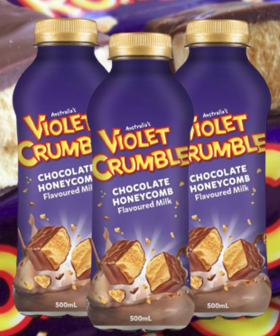 A New Violet Crumble Milk Drink Is Coming To Our Supermarket Shelves Soon!