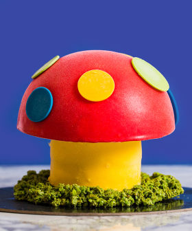 eBay Teams Up With Gelato Messina To Create A Dr Evil Magic Mushroom Cake