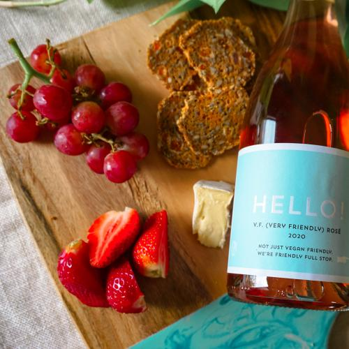 Say Hello (Hello) to this 'VF' (Very Friendly) Vegan Friendly Wine!