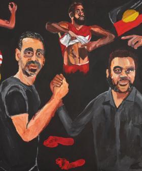 Indigenous Artist Wins Prestigious Archibald Prize For His Portrait Of Adam Goodes