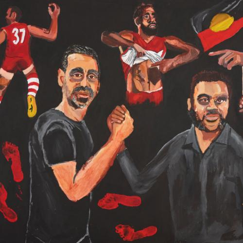 Indigenous Artist Wins Prestigious Archibald Prize For His Portrait Of Adam Goodes