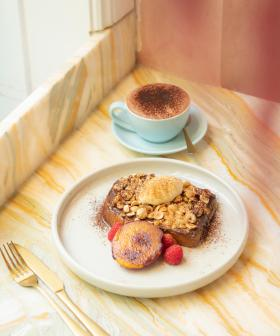 Hello, Weekend: This Cafe Is Doing Ferrero Rocher French Toast