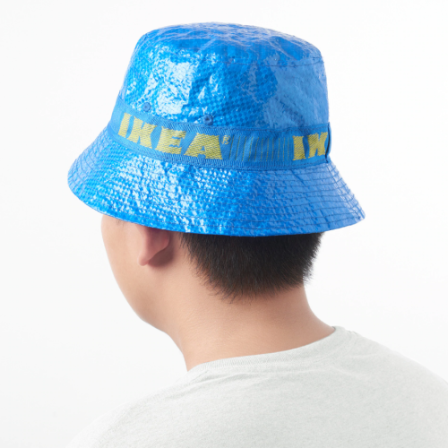IKEA's Iconic Blue Shopping Bag Has Been Transformed Into A Hat!