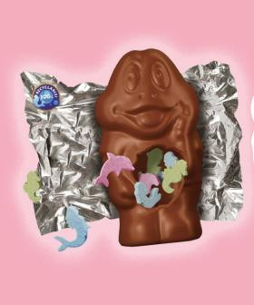 You Can Now Purchase Freddo Frogs Stuffed With LOLLIES!