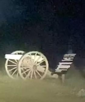 Chilling 'Human-Sized Ghosts' Spotted Running At Gettysburg Site