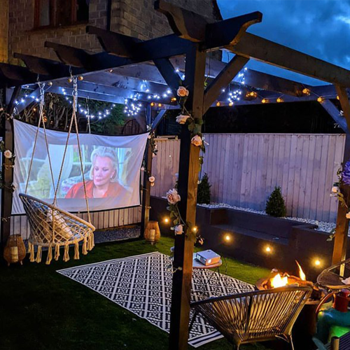 This $99 Post Office Gadget Will Transform Your Place Into A Movie Theatre