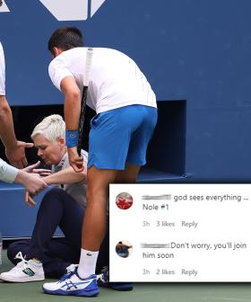 US Open Lineswoman Is Getting DEATH THREATS From Novak Djokovic Fans