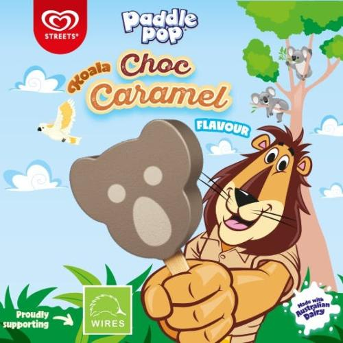 Paddle Pop Launches Koala Choc Caramel For A VERY Good Cause!