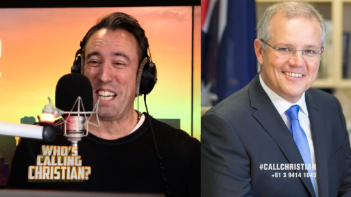 Who's Calling Christian? PM Scott Morrison!