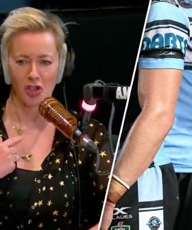 Amanda Keller's Truly BIZARRE Experience At The Footy
