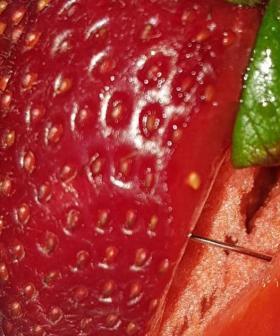 Pins Found In Strawberries Bought From Aussie Supermarket