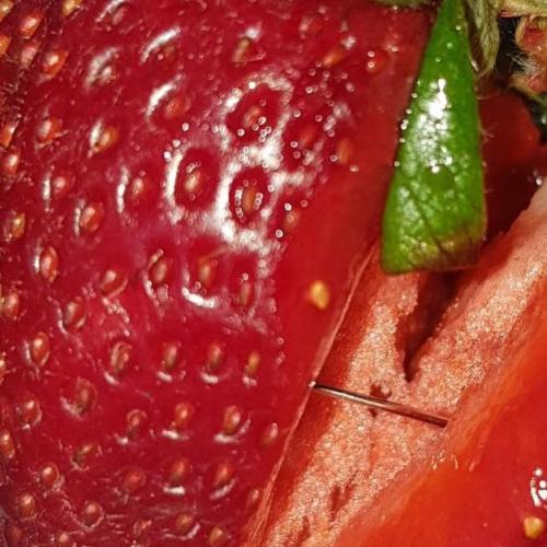 Pins Found In Strawberries Bought From Aussie Supermarket