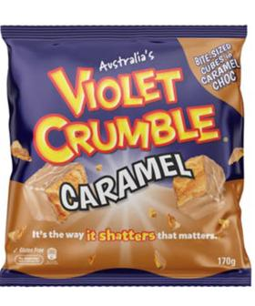 White Chocolate Caramel Violet Crumble Now Exists!