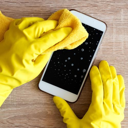 New Research Shows COVID-19 Can Survive On Surfaces Like Your Phone For Up To Four Weeks