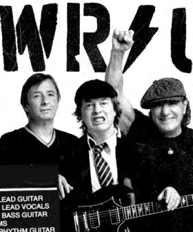 Here's Your FIRST Taste Of AC/DC's New Music!