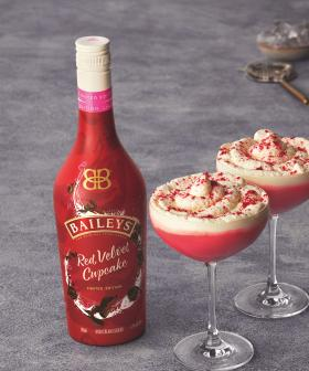 Baileys Has Dropped A 'Red Velvet Cupcake' Flavoured Drink!