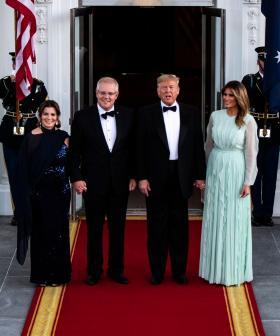 Prime Minister Scott Morrison Comments On Trump's COVID-19 Diagnosis