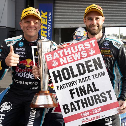Bathurst 1000 Winner Shane van Gisbergen's Extraordinary Holden Tribute