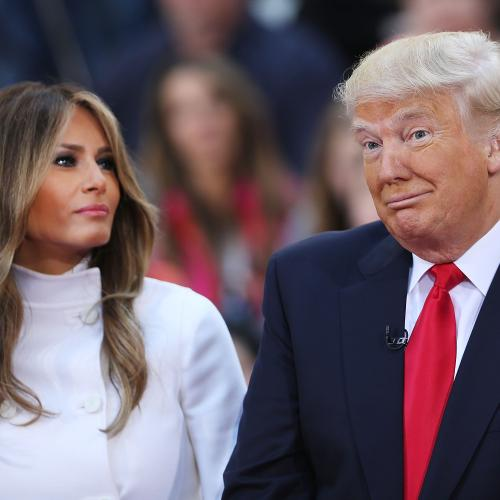 Donald And Melania Trump In Quarantine After Being Tested For COVID-19