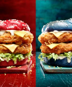 KFC Is Releasing State Of Origin Burgers