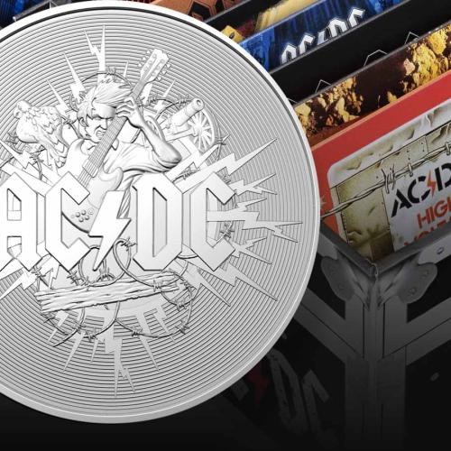 Coin Collectors 'Thunderstruck' Over Royal Australian Mint's AC/DC Collection