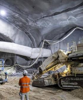 Underground Tunnels For Sydney's New Martin Place Metro Station Completed