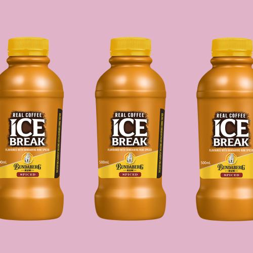 Ice Break Iced Coffee Now Has A Bundaberg Spice Rum Flavour