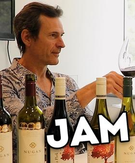 Jonesy & Amanda Taste Test Their Brand New 'JAM Drop' Wine!