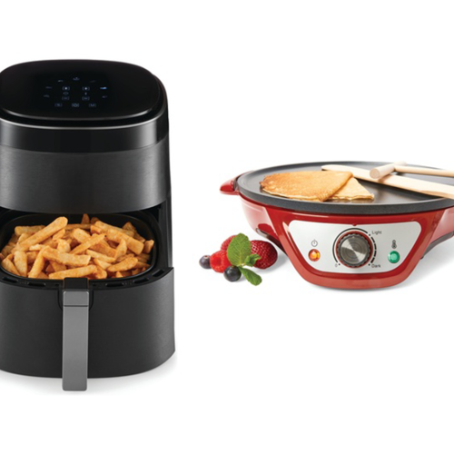 Kmart Now Has A New Crepe Maker, 7 Litre Air Fryer & Chocolate Fountain