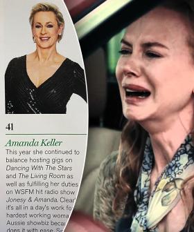 Nicole Kidman REACTS To Amanda Keller Beating Her In Maxim's Hot 100
