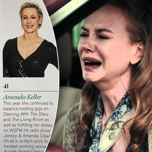 Nicole Kidman REACTS To Amanda Keller Beating Her In Maxim's Hot 100
