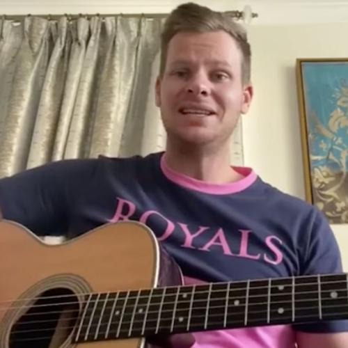 Did You Know That Cricketer Steve Smith Can SING? Listen Here!
