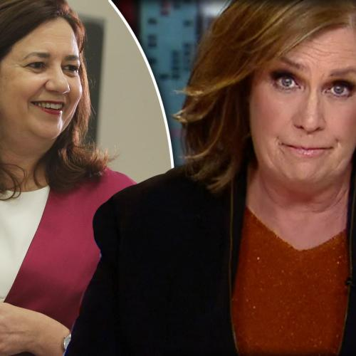 Tracy Grimshaw SLAMS Queensland Premier Annastacia Palaszczuk On 'A Current Affair'