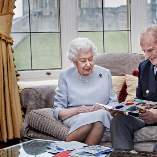 Queen Elizabeth & Prince Philip Celebrate Their 73rd Wedding Anniversary