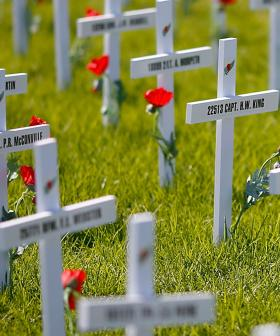 Vandals Damage RSL's Remembrance Day Memorial