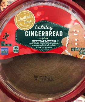 Love Gingerbread? Love Hummus? Well, Now Gingerbread Hummus Exists!