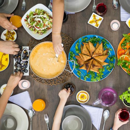 Families Eating Different Meals Together At Dinner Time Becoming The New Norm