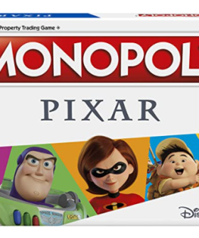 Brand New Pixar-Themed Monopoly Is Available On Amazon!