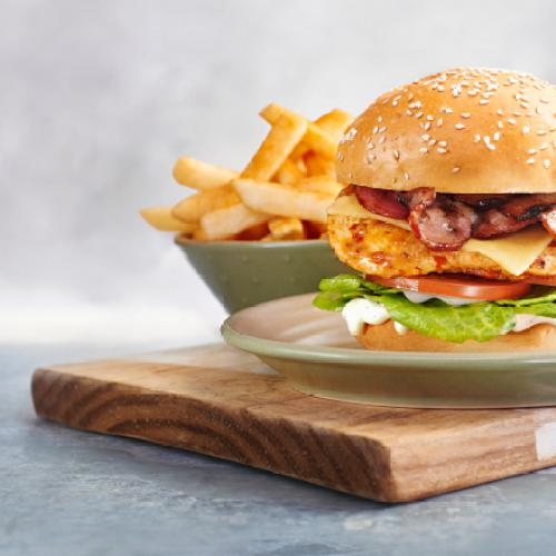 Nando's Has Just Dropped Its New 'Truffle & Bacon Classic Burger' & It's A Cluckin' Miracle!