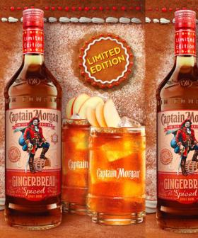 Captain Morgan Has Now Got A Spiced Gingerbread Holiday Flavour