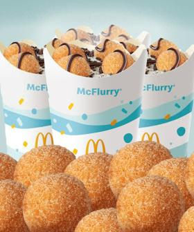 McDonald's Has Introduced A Donut Ball McFlurry And It Sounds Delightful!